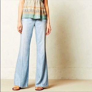 Anthropologie Level 99 Newport Wide Leg Jean Pant